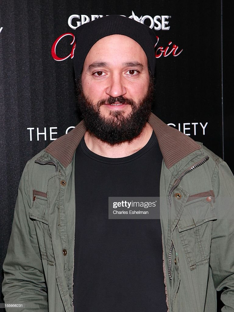 Actor Greg Bello attends Gato Negro Films & The Cinema Society screening of 'Hotel Noir' at the Crosby Street Hotel on November 9, 2012 in New York City.