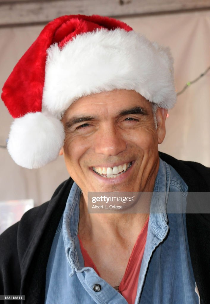 Actor Greg Collins participates in The Heartfelt Foundation's 33rd Annual Christmas/Holiday Party For Children In Need held at The Santa Monica Pier on December 15, 2012 in Santa Monica, California.
