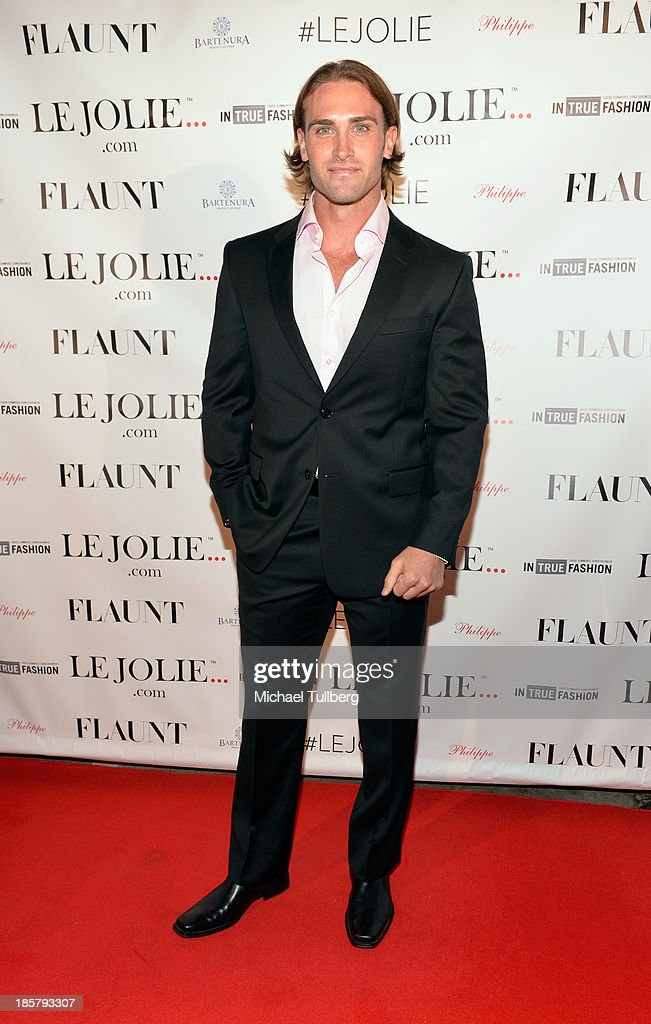 Actor Greg Duke attends the LeJolie.com launch party at No Vacancy on October 24, 2013 in Los Angeles, California.
