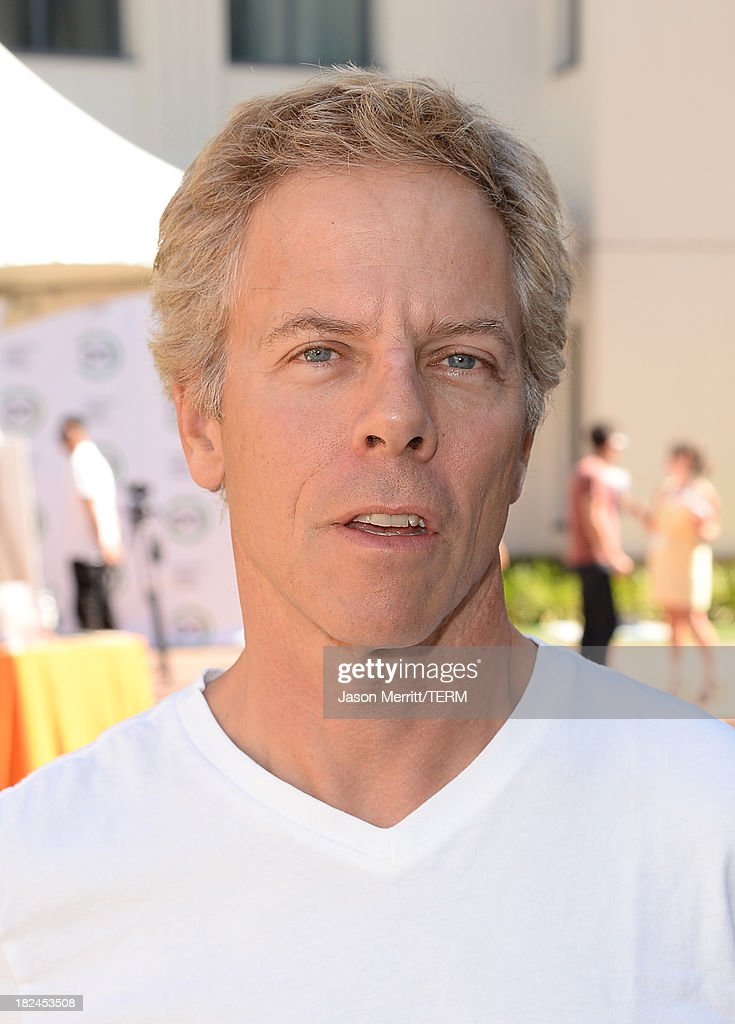 Actor <a gi-track='captionPersonalityLinkClicked' href=/galleries/search?phrase=Greg+Germann&family=editorial&specificpeople=689569 ng-click='$event.stopPropagation()'>Greg Germann</a> attends the 2nd Annual GameOn! fundraiser hosted by Common Sense Media at Sony Pictures Studios on September 29, 2013 in Culver City, California.