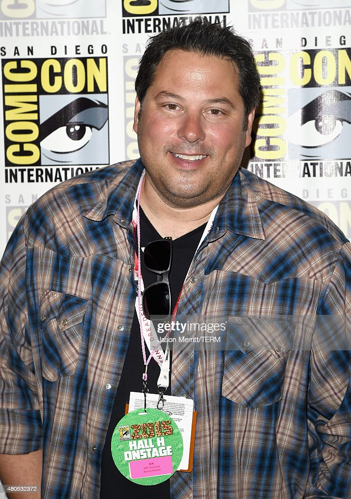 Actor Greg Grunberg attends 'Heroes Reborn' Press Room during Comic-Con International 2015 at Hilton Bayfront on July 12, 2015 in San Diego, California.