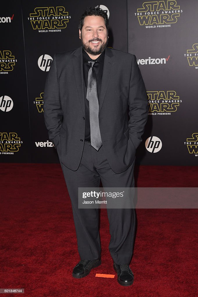 Actor Greg Grunberg attends Premiere of Walt Disney Pictures and Lucasfilm's 'Star Wars: The Force Awakens' on December 14, 2015 in Hollywood, California.
