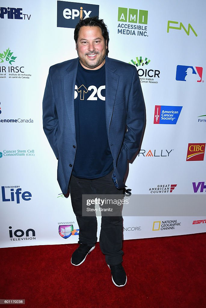 Actor Greg Grunberg attends Stand Up To Cancer 2016 at Walt Disney Concert Hall on September 9, 2016 in Los Angeles, California.