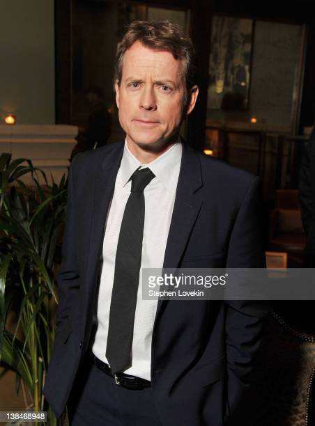 Actor Greg Kinnear attends the after party for the Cinema Society Grey Goose screening of 'Thin Ice' at the Soho Grand Hotel on February 6 2012 in...
