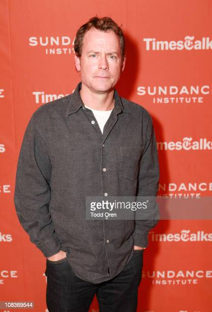 Actor Greg Kinnear attends TimesTalks Panel at the Temple Theatre during the 2011 Sundance Film Festival on January 26 2011 in Park City Utah