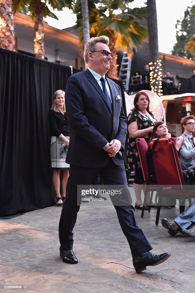 Actor <a gi-track='captionPersonalityLinkClicked' href=/galleries/search?phrase=Greg+Proops&family=editorial&specificpeople=693332 ng-click='$event.stopPropagation()'>Greg Proops</a> attends 'Forbidden Planet' screening during day 3 of the TCM Classic Film Festival 2016 on April 30, 2016 in Los Angeles, California. 25826_008