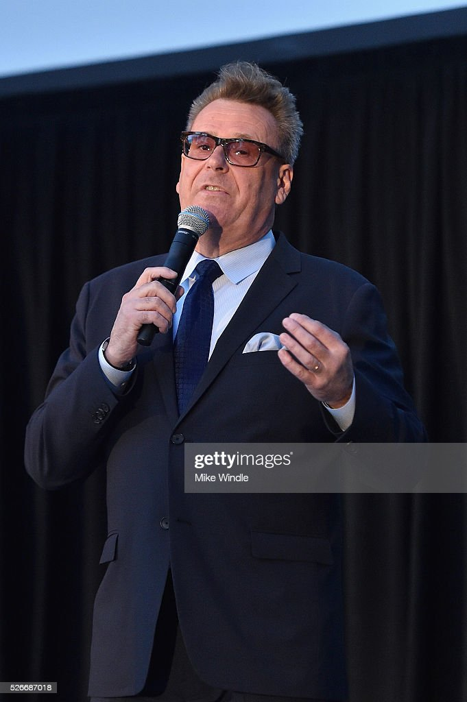 Actor Greg Proops speaks onstage during 'Forbidden Planet' screening during day 3 of the TCM Classic Film Festival 2016 on April 30, 2016 in Los Angeles, California. 25826_008