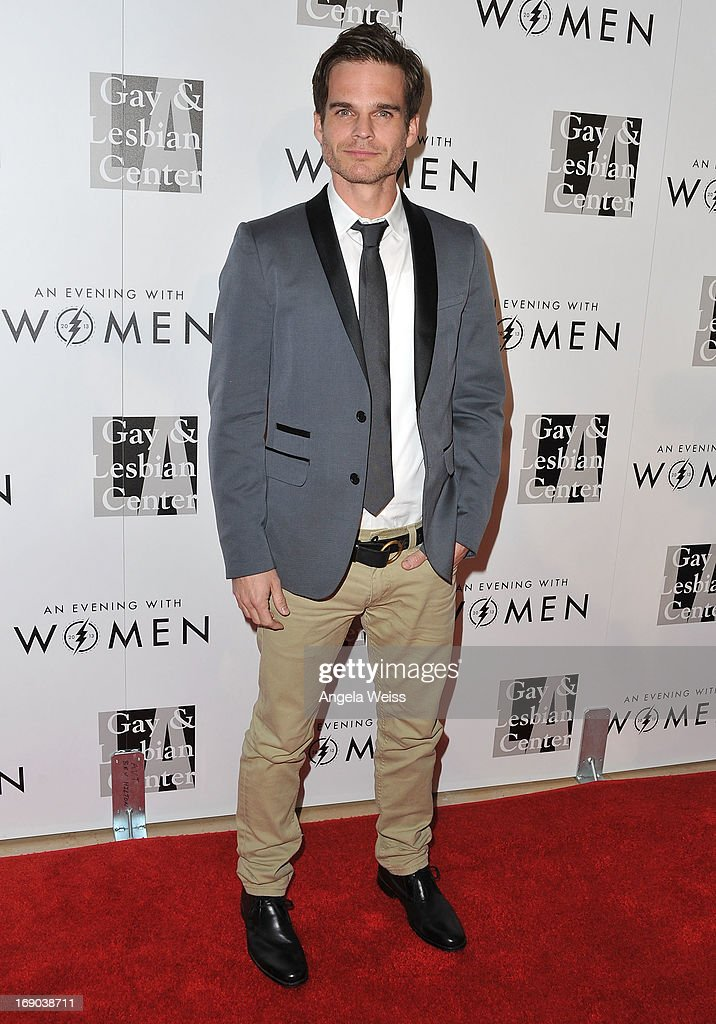 Actor Greg Rikaart arrives at the L.A. Gay & Lesbian Center's 2013 'An Evening With Women' Gala at The Beverly Hilton Hotel on May 18, 2013 in Beverly Hills, California.