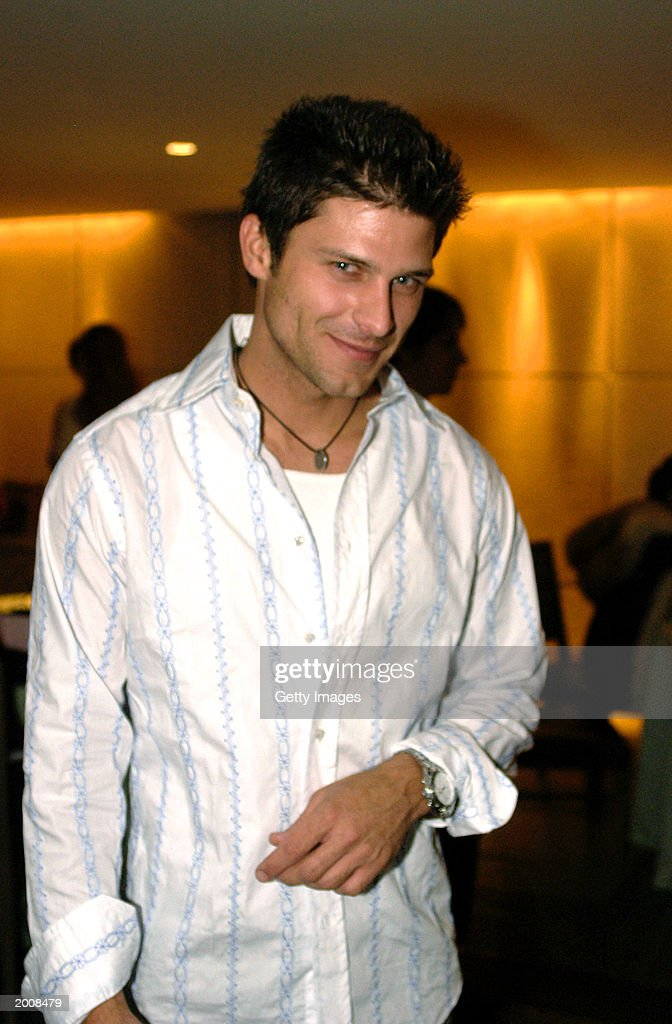 Actor Greg Vaughan appears at the ABC after party for the 30th Annual Daytime Emmy Awards at the Sea Grill Restaurant May 16, 2003 in New York City.