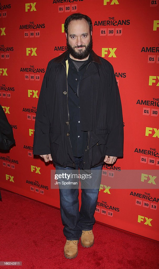 Actor <a gi-track='captionPersonalityLinkClicked' href=/galleries/search?phrase=Gregg+Bello&family=editorial&specificpeople=243188 ng-click='$event.stopPropagation()'>Gregg Bello</a> attends FX's 'The Americans' Season One New York Premiere at DGA Theater on January 26, 2013 in New York City.
