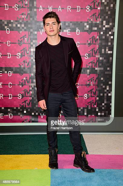 Actor Gregg Sulkin attends the 2015 MTV Video Music Awards at Microsoft Theater on August 30 2015 in Los Angeles California