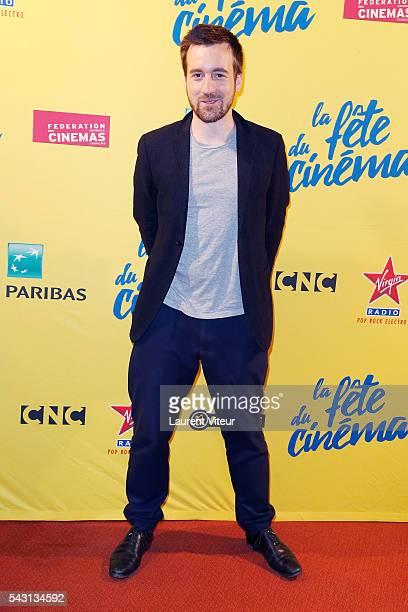 Actor GregoireLeprince Ringuet attends the 32nd 'Fete du Cinema' launch at UGC Cine Cite Bercy on June 26 2016 in Paris France