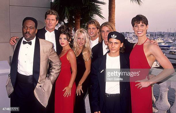 Actor Gregory Alan Williams actor David Hasselhoff actress Yasmine Bleeth actress Pamela Anderson actor David Charvet actor Jaason Simmons actor...
