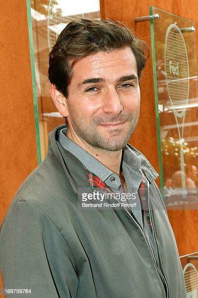 Actor Gregory Fitoussi attends Roland Garros Tennis French Open 2013 Day 7 on June 1 2013 in Paris France