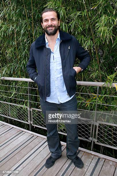 Actor Gregory Fitoussi attends the 2015 Roland Garros French Tennis Open Day Five on May 28 2015 in Paris France
