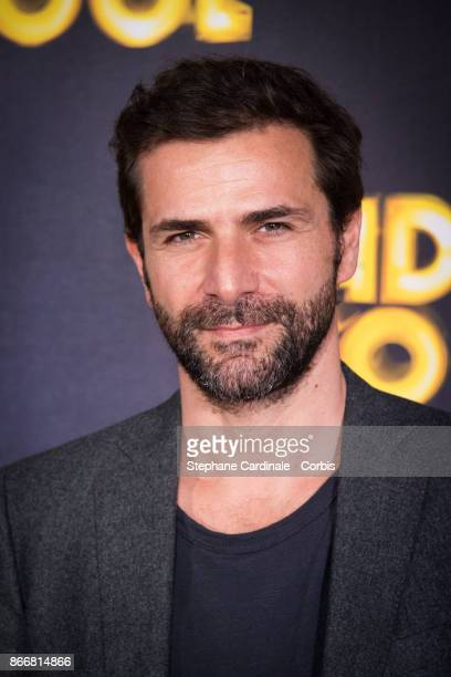 Actor Gregory Fitoussi attends the 'Daddy Cool' Paris Premiere at UGC Cine Cite Bercy on October 26 2017 in Paris France