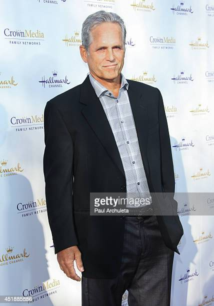 Actor Gregory Harrison attends the Hallmark Channel and Hallmark Movie Channel's 2013 Summer TCA Party on July 8 2014 in Beverly Hills California