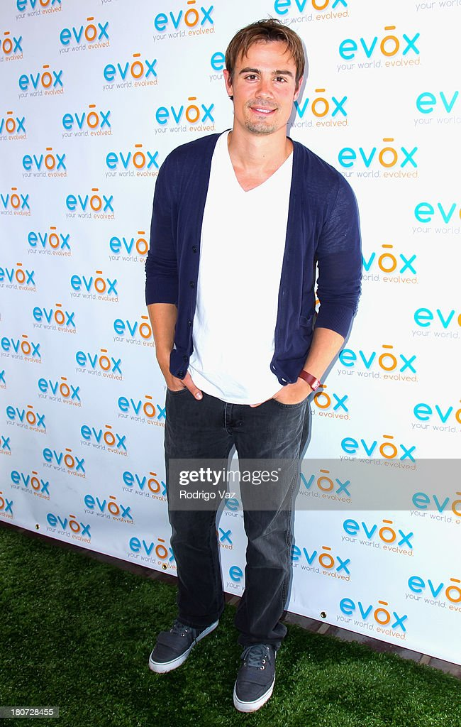 Actor Gregory Michael attends green carpet launch of Evox TV debuting Ed Begley's new family show 'On Begley Street' on September 15, 2013 in Pasadena, California.
