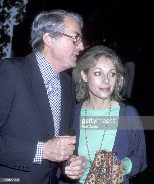 Actor Gregory Peck and wife Veronique Peck attend A Little Romance Premiere Party on March 30 1979 at ABC Entertainment Center in Century City...