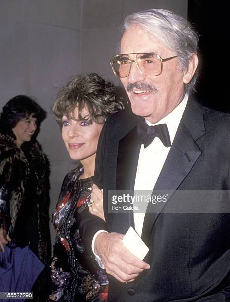 Actor Gregory Peck and wife Veronique Peck attend the Metropolitan Museum of Art's Office of Film Television Hosts a Private Gala Celebration on...