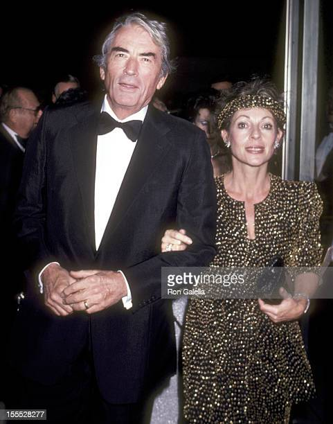 Actor Gregory Peck and wife Veronique Peck attend the Opening Night of the 19th Annual New York Film Festival Special Screening of Chariots of Fire...