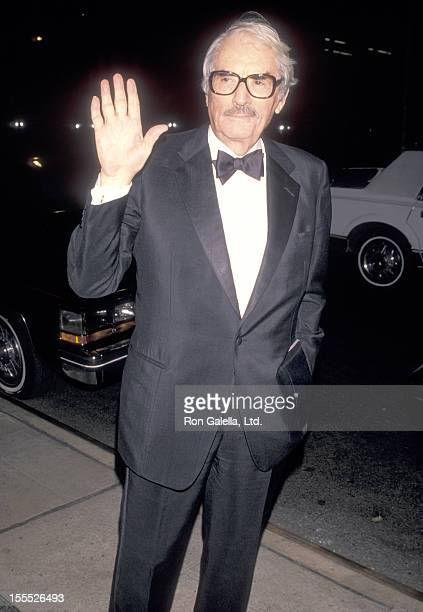 Actor Gregory Peck attends An Evening with Gregory Peck Film Retrospective and Tribute Gala on November 12 1990 at The Museum of Modern Art in New...