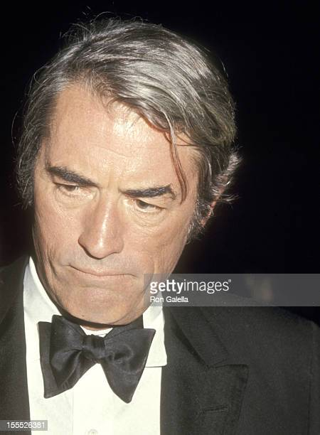 Actor Gregory Peck attends the 43rd Annual Academy Awards Governo's Ball on April 15 1971 at Beverly Hilton Hotel in Beverly Hills California