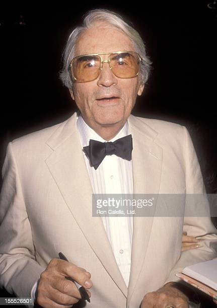Actor Gregory Peck attends the Los Angeles County Museum of Art and The Museum of Modern Present the American MovieMakers Directed by Vincente...