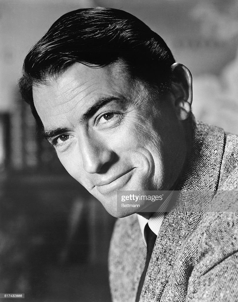 Actor <a gi-track='captionPersonalityLinkClicked' href=/galleries/search?phrase=Gregory+Peck&family=editorial&specificpeople=69992 ng-click='$event.stopPropagation()'>Gregory Peck</a> is shown in this publicity handout. Ca. 1940s-1950s.