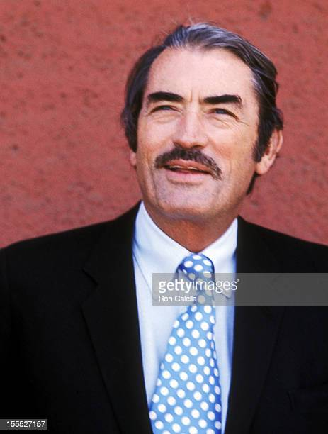 Actor Gregory Peck on June 11 1971 arrives at Los Angeles International Airport in Los Angeles California