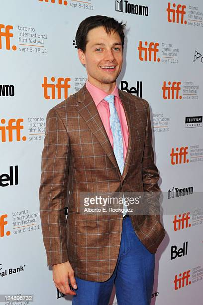 Actor Gregory Smith arrives at 'Peace Love Misunderstanding' Premiere at Roy Thomson Hall during the 2011 Toronto International Film Festival on...