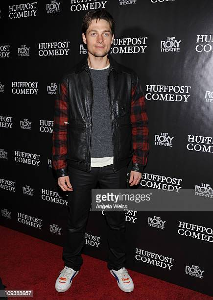 Actor Gregory Smith arrives at the Arianna Huffington The Huffington Post presents Bill Maher and The Best of Huffpost Comedy event at The Roxy...