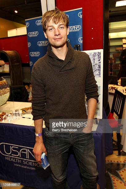 Actor Gregory Smith attends Kari Feinstein Style Lounge on January 21 2011 in Park City Utah