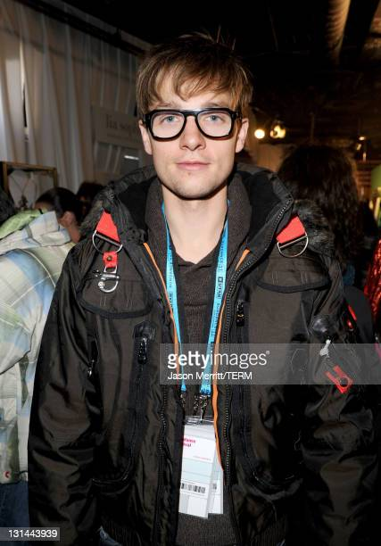 Actor Gregory Smith attends The Samsung Galaxy Tab Lift on January 21 2011 in Park City Utah