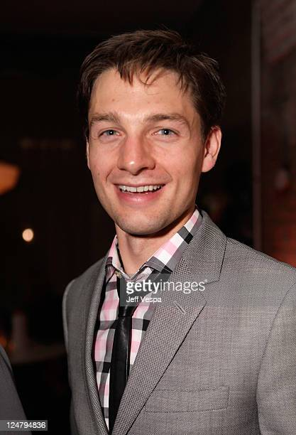 Actor Gregory Smith attends the 'Weinstein Party Including Butter Cast' hosted by GREY GOOSE Vodka at Soho House Pop Up Club during the 2011 Toronto...