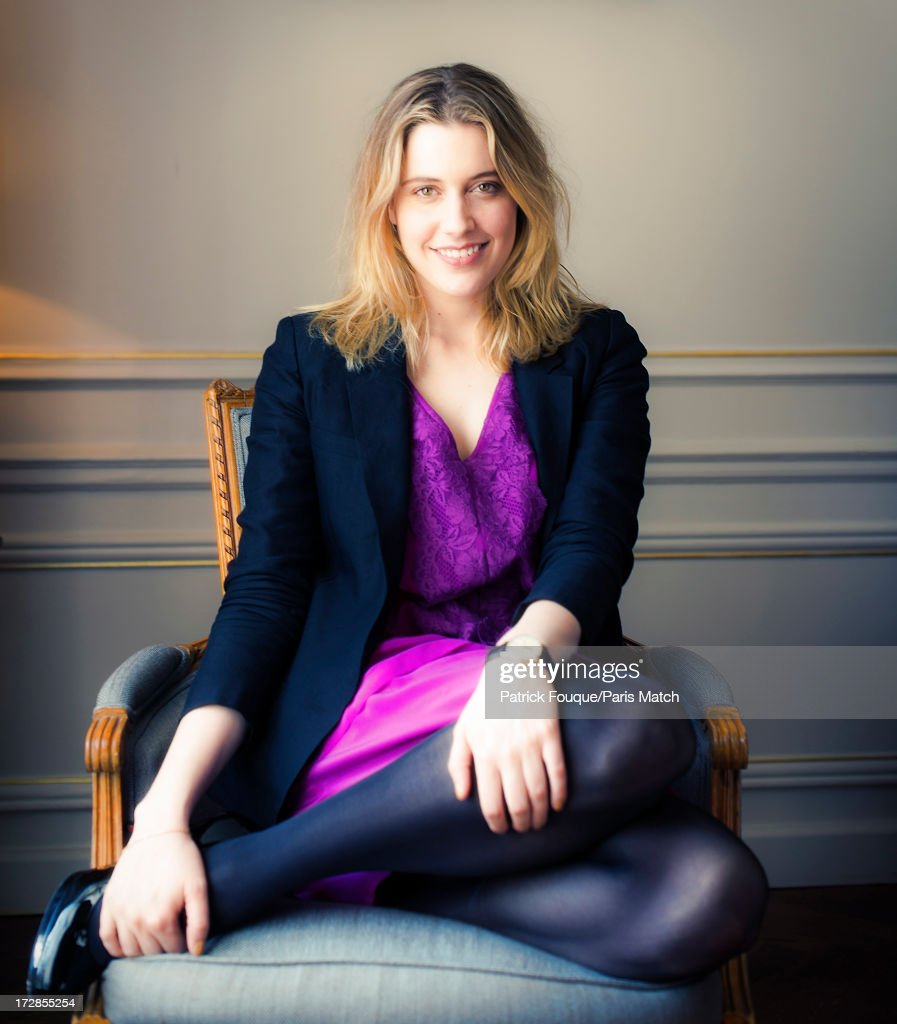 Actor <a gi-track='captionPersonalityLinkClicked' href=/galleries/search?phrase=Greta+Gerwig&family=editorial&specificpeople=4249808 ng-click='$event.stopPropagation()'>Greta Gerwig</a> is photographed for Paris Match on February 18, 2013 in Paris, France.