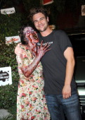 Actor Grey Damon arrives for'The Walking Dead' 10th Anniversary Celebration Event Presented by Hyundai and Skybound on Day 2 of the 2013 ComicCon...