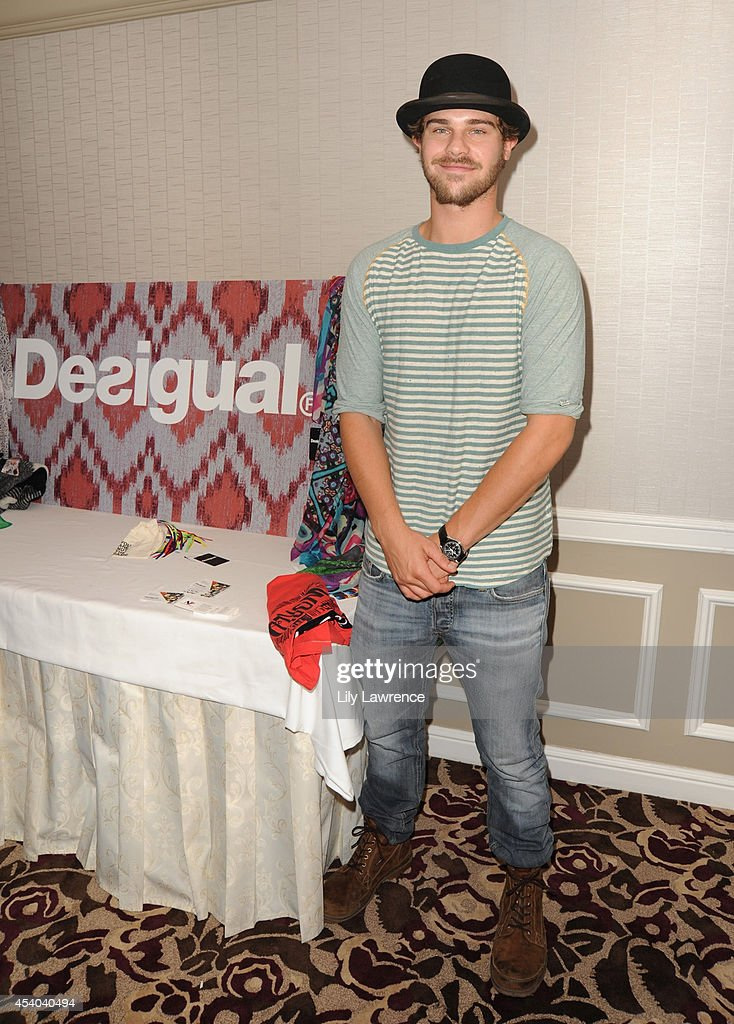 Actor Grey Damon attends the HBO Luxury Lounge featuring PANDORA at Four Seasons Hotel Los Angeles at Beverly Hills on August 23, 2014 in Beverly Hills, California.