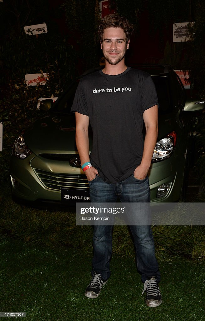 Actor <a gi-track='captionPersonalityLinkClicked' href=/galleries/search?phrase=Grey+Damon&family=editorial&specificpeople=7039977 ng-click='$event.stopPropagation()'>Grey Damon</a> attends 'The Walking Dead' 10th Anniversary Celebration Event during Comic-Con 2013 on July 19, 2013 in San Diego, California.
