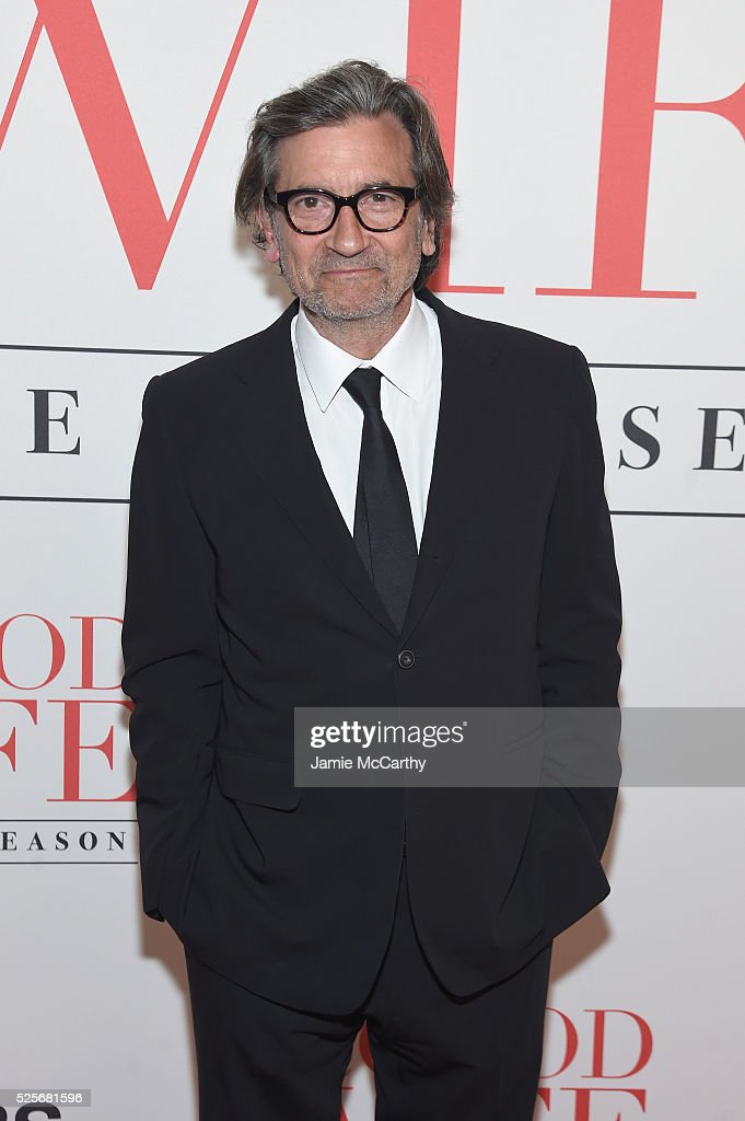 Actor Griffin Dunne attends 'The Good Wife' Finale Party at Museum of Modern Art on April 28, 2016 in New York City.