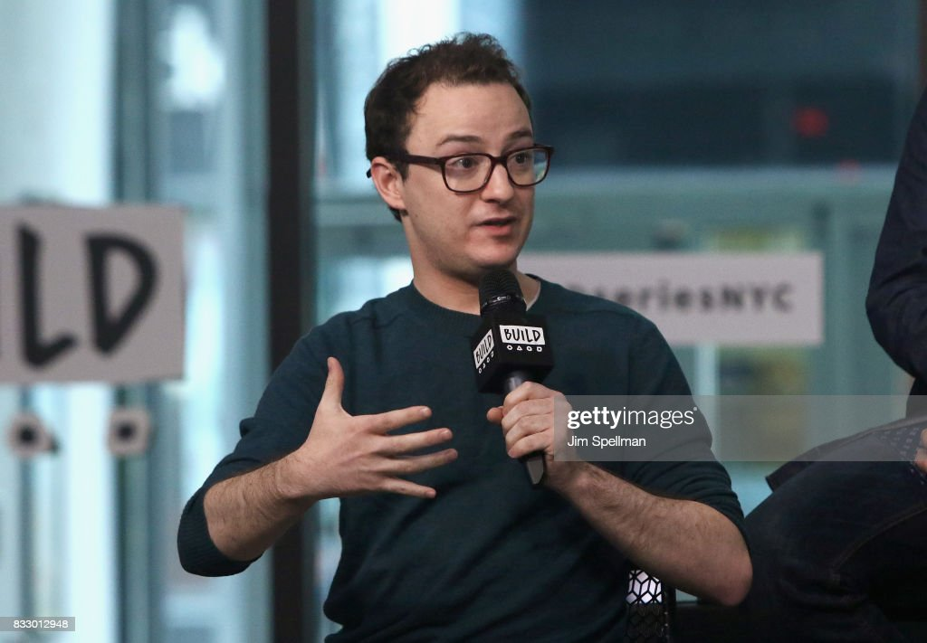 Actor Griffin Newman attends Build to discuss 'The Tick' at Build Studio on August 16, 2017 in New York City.