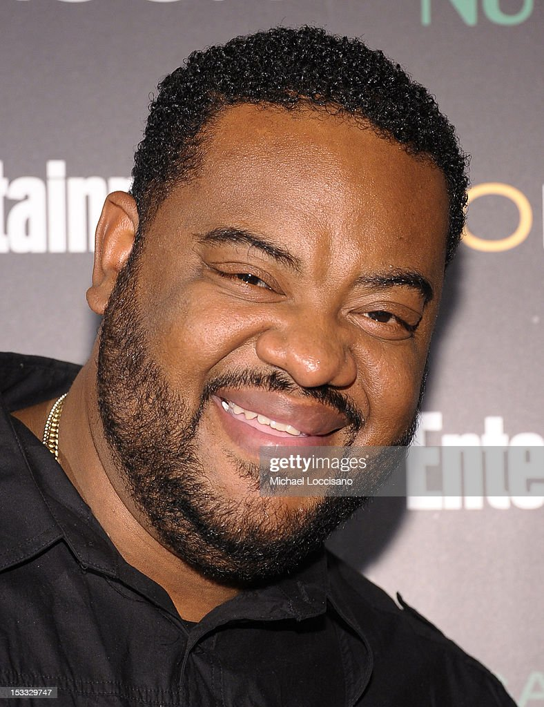 Actor Grizz Chapman attends Entertainment Weekly and NBC's celebration of the final season of 30 Rock sponsored by Garnier Nutrisse on October 3, 2012 in New York City.