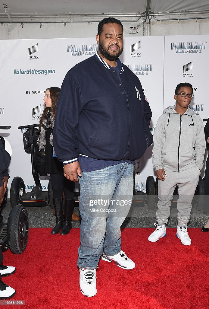 Actor Grizz Chapman attends the 'Paul Blart Mall Cop 2' New York Premiere at AMC Loews Lincoln Square on April 11 2015 in New York City