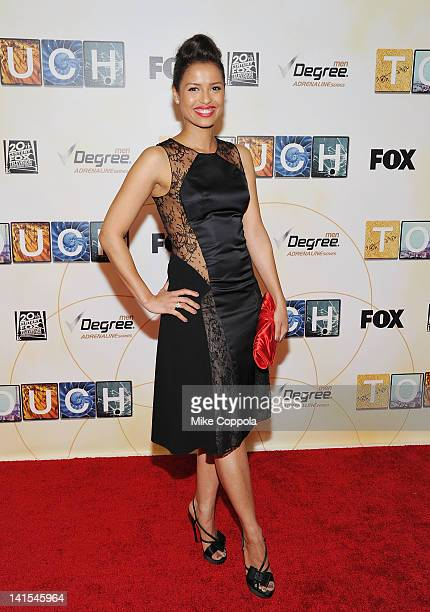 Actor Gugu MbathaRaw attends the 'Touch' premiere at the American Museum of Natural History on March 18 2012 in New York City