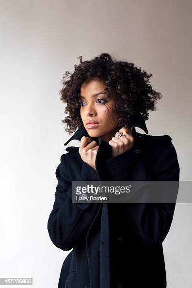 Actor Gugu MbathaRaw is photographed for the Spectator on March 3 2014 in London England