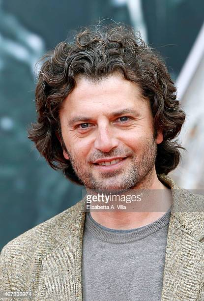 Actor Guido Caprino attends '1992' Tv Movie photocall at Cinema Moderno The Space on March 23 2015 in Rome Italy