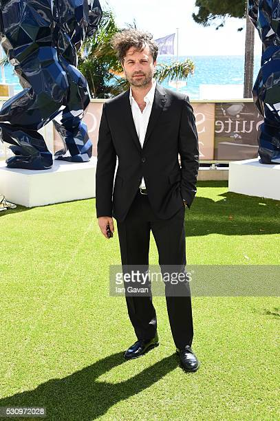 Actor Guido Caprino attends the 'Fai Bei Sogni' photocall during the 69th annual Cannes Film Festival at Palais des Festivals on May 12 2016 in...
