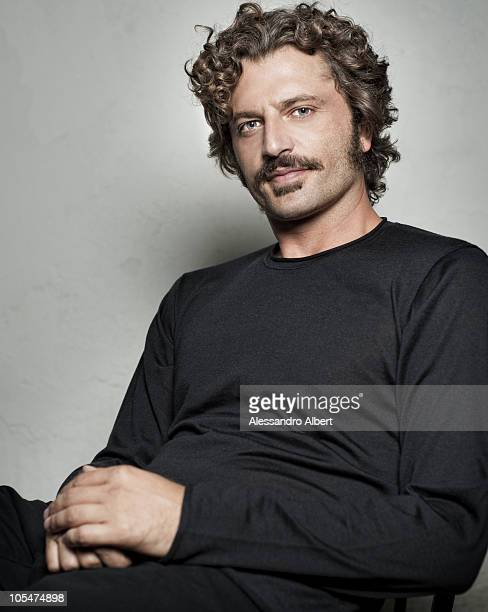 Actor Guido Caprino poses for a portrait session in Venice on September 07 during 67th Venice International Film Festival Film 'Noi Credevamo' by...