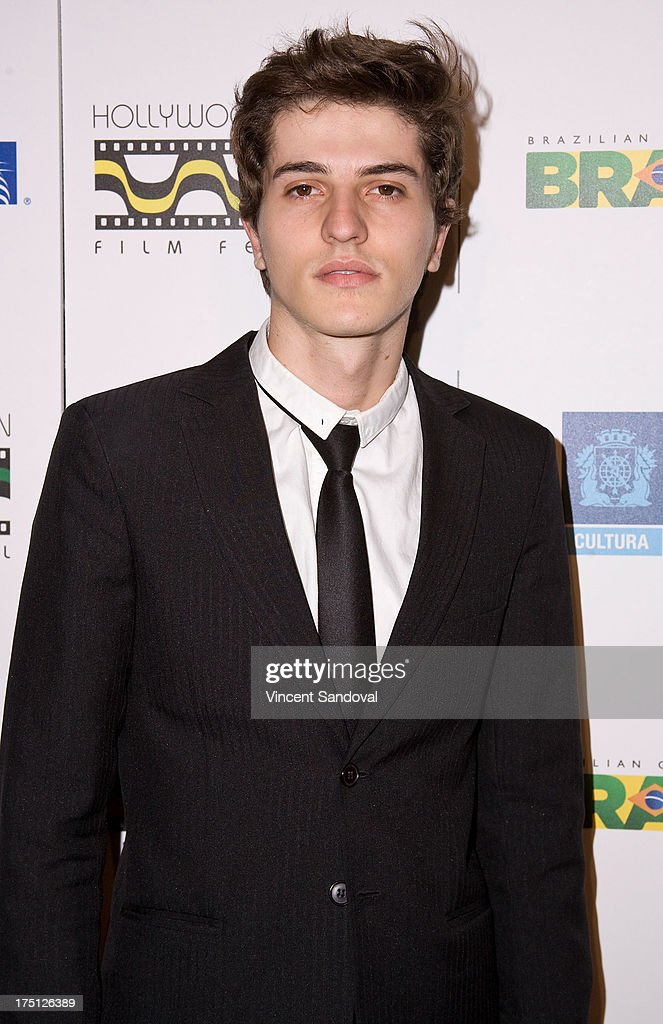 Actor Guilherme Scarabelot attends the 5th annual Hollywood Brazilian Film Festival at the Egyptian Theatre on July 31, 2013 in Hollywood, California.