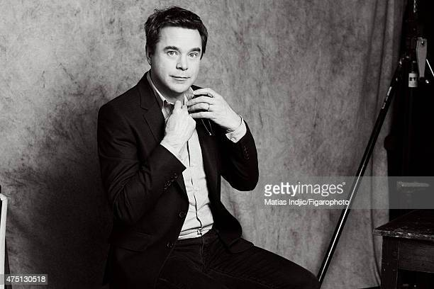 Actor Guillaume de Tonquedec is photographed for Madame Figaro on January 16 2015 in Paris France Makeup by Givenchy Le Make Up CREDIT MUST READ...